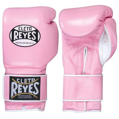 Перчатки боксерские женские,липучка, 14 унций, Розовые Cleto ReyesБоксерские перчатки<br>специальный дизайн для женщин<br> облегченный вес<br> сделаны из высококачественной 100% кожи<br>