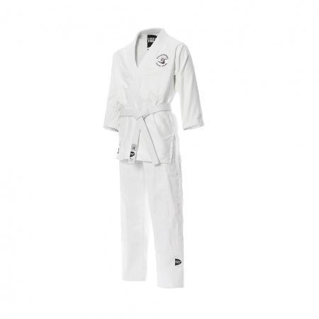 Детское кимоно для айкидо Green Hill, лицензия нсар, 150 см Green HillЭкипировка для Айкидо<br>Кимоно для занятий айкидо. Одобрено Национальной ассоциацией айкидо России для тренировок и соревнований.<br><br>Размер: Белый