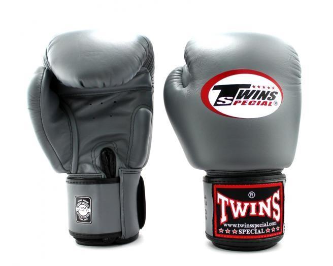 Купить Перчатки боксерские Twins BGVL-3 Grey Special 10 унций (арт. 20430)