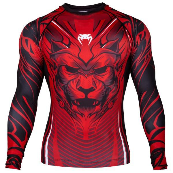 Купить Рашгард Venum Bloody Roar Black/Red L/S PSn-venrash0122 (арт. 20462)