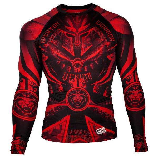 Купить Рашгард Venum Gladiator Black/Red L/S (арт. 20466)
