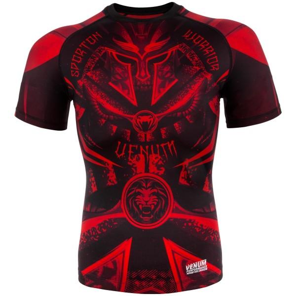 Купить Рашгард Venum Gladiator Black/Red S/S (арт. 20467)