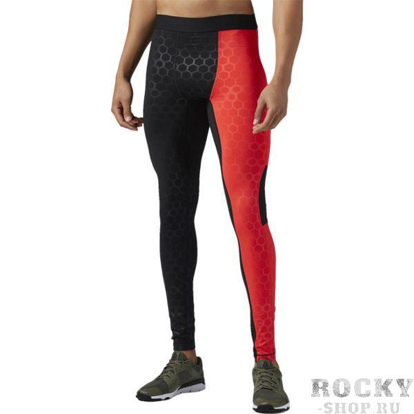 Компрессионные леггинсы Reebok Hexawarm ReebokКомпрессионные штаны / шорты<br>Компрессионные брюки Reebok Hexawarm. Материал: 84% полиэстер / 16% эластан, легкая ткань интерлок для эластичности. Компрессионный крой, идеально прилегающий к телу, обеспечивает максимальную поддержку мышц. Идеально для тренировок и бега в прохладную погоду. Легкий и технологичный флис HEXAWARM защищает от холода, сохраняет тепло и позволяет воздуху свободно циркулировать. Сетчатая ластовица для вентиляции и комфорта. Уход: машинная стирка в холодной воде, деликатный отжим, не отбеливать.<br><br>Размер INT: XL