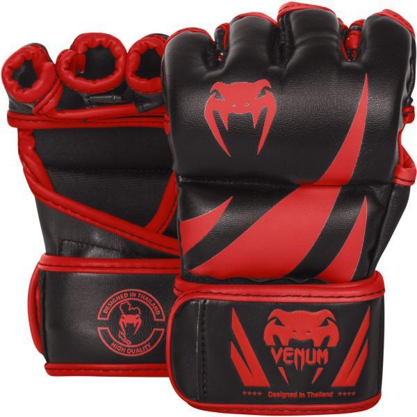 Купить Перчатки ММА Venum Challenger Neo Black/Red (арт. 20615)