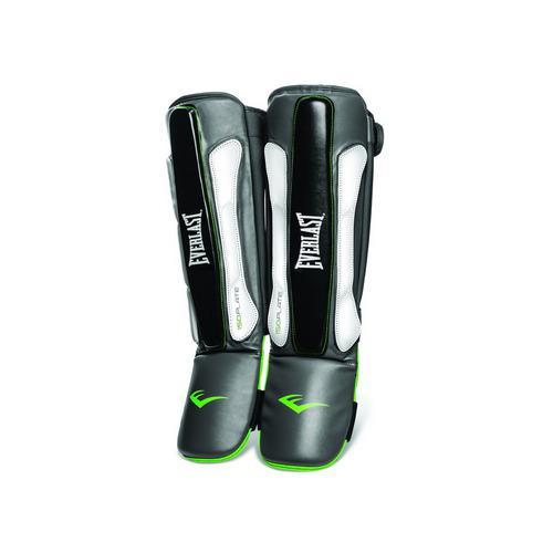 Защита голени и стопы Prime MMA EverlastЗащита тела<br>Prime MMA Shin Guards &amp;mdash; надёжная защита голени, идеальная для спаррингов. Центральная часть щитков усилена пенным материалом ISOPLATE, который традиционно обеспечивает максимальную амортизацию и гарантирует защиту от травм на самом высоком уровне. Застёжки-липучки не стесняют движений и легко настраиваются под любой размер ноги. Универсальный размер щитков подходит большинству бойцов.<br>
