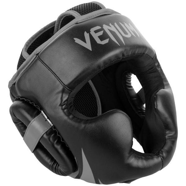 Купить Шлем боксерский Venum Challenger 2.0 Neo Black/Grey (арт. 20630)