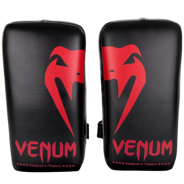 Купить Пэды Venum Giant Kick Pads Black/Red (пара) (арт. 20639)