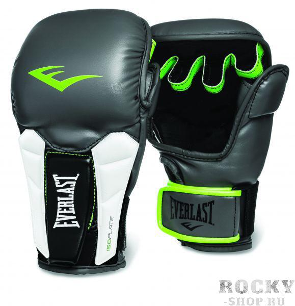 Перчатки MMA Everlast Prime EverlastПерчатки MMA<br>Prime Universal Training Gloves — универсальные тренировочные перчатки высшего класса, которые можно использовать как при работе на лапах, так и в спаррингах. Изготовлены из мягкой искусственной кожи высшего качества, способной выдержать самые интенсивные нагрузки. Вставки из пенного материала ISOPLATE в области запястий обеспечивают поддержку, достаточную даже для профессиональных бойцов, и предотвращают возможные растяжения. Конструкция нового модельного ряда позволяет с одинаковым успехом оттачивать в этих перчатках не только традиционные удары, но и технику грэпплинга. Модель предназначена для бойцов высочайшего класса, а также быстро прогрессирующих любителей.<br><br>Размер: S/M