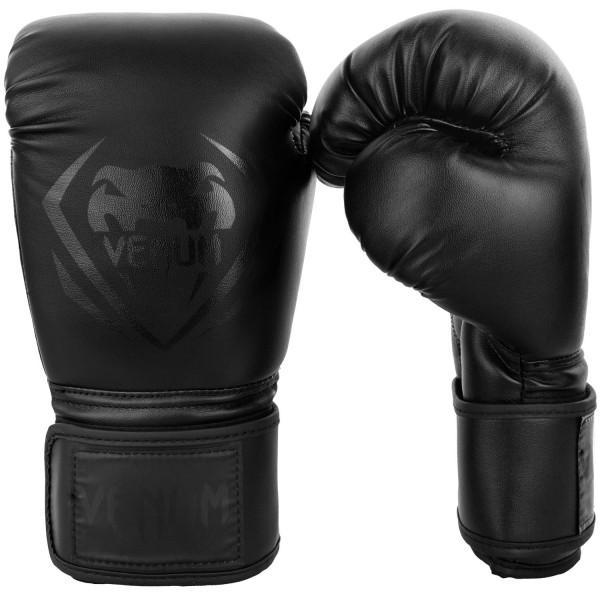 Купить Перчатки боксерские Venum Contender Black/Black 14 oz (арт. 20665)