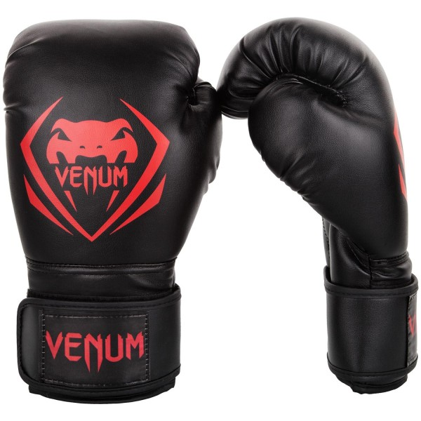 Купить Перчатки боксерские Venum Contender Black/Red 10 oz (арт. 20691)