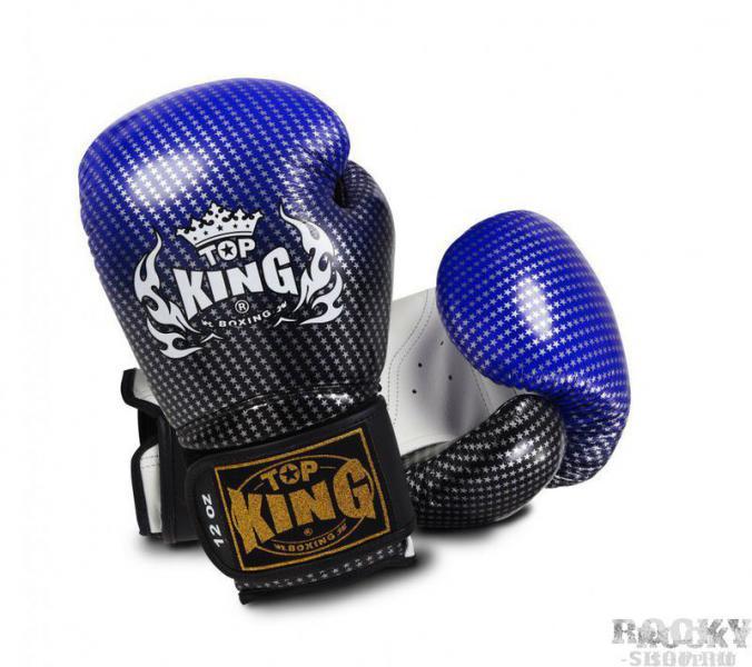 Перчатки боксерские Super Star , 16 oz Top KingБоксерские перчатки<br>Широко известная модель перчаток Super Star от компании Top King славится непревзойденным качеством изготовления, гарантирующим комфорт при длительном активном использовании и обеспечивающим продолжительный срок службы экипировки. Сверхпрочное покрытие из натуральной кожи и наполнитель из абсорбирующей пены стали основой для нового дизайна боксерских перчаток, а инновационная система Clima Cool технически вывела их на уровень выше предшествующих моделей.<br>
