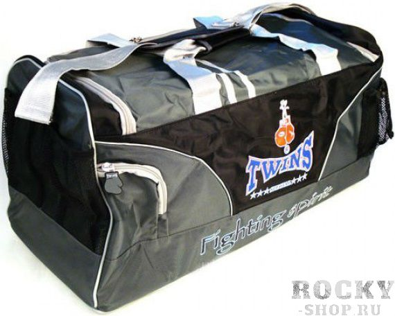 Спортивная сумка Twins Bag Grey Twins SpecialСпортивные сумки и рюкзаки<br>Большая вместительность Удобные карманы для переноски экипировки<br>