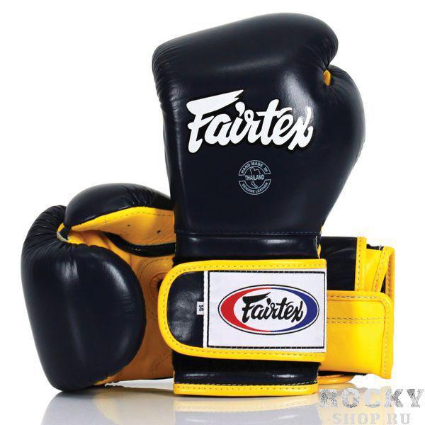Купить Боксерские перчатки Fairtex BGV9 black/yellow 14 oz (арт. 20730)