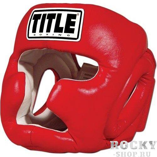 Купить Боксерский шлем Title PRO FULL FACE, RED TITLE l (арт. 20795)