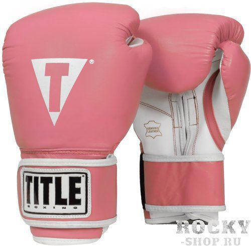 Купить Перчатки тренировочные TITLE PRO STYLE Light Pink 10 oz (арт. 20797)