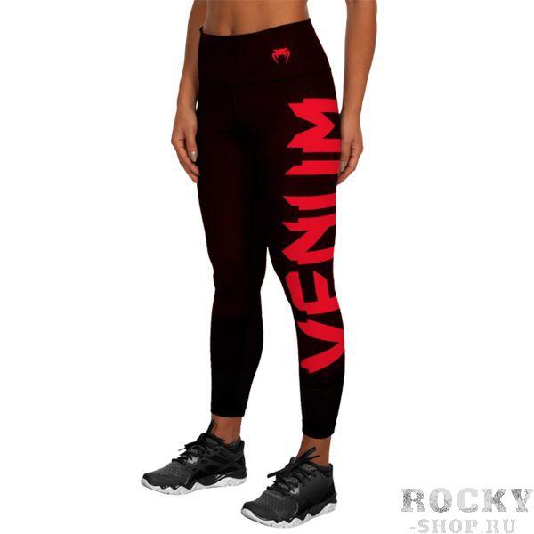 Компрессионные штаны Venum Giant VenumКомпрессионные штаны / шорты<br>Женские компрессионные штаны Venum Giant. С этими компрессионками от Venum вы будете думать только о тренировочном процессе, не отвлекаясь на неприятные ощущения в мышцах ног. Предназначены для улучшения кровообращения в мышцах, что, в свою очередь, способствует уменьшению времени на восстановление полной работоспособности мышцы. За счёт особенностей ткани штаны прекрасно садятся на фигуру, хорошо тянутся, абсолютно НЕ сковывают движения. Приятная на ощупь ткань. Штаны Venum достаточно быстро сохнут. Плоские швы не натирают кожу. Предназначены для занятий кроссфитом, фитнесом, железным спортом и т. д. . Состав: 90% полиэстер, 10% спандекс. Уход: Машинная стирка в холодной воде, деликатный отжим, не отбеливать.<br><br>Размер INT: XS