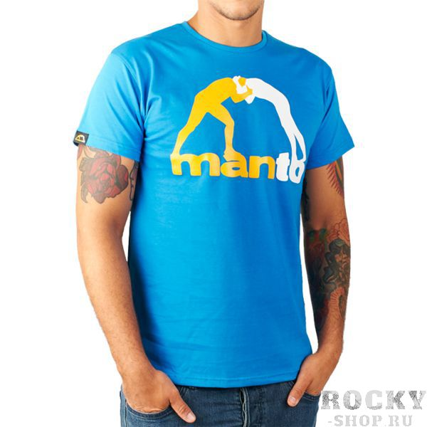 Футболка Manto Classic MantoФутболки<br>Футболка Manto Classic. Состав: 100% хлопок.<br><br>Размер INT: L