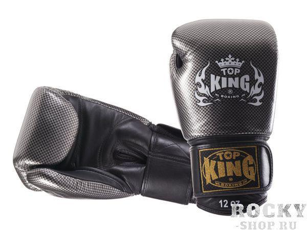 Перчатки боксерские Top King Empower Creativity, 14 OZ Top KingБоксерские перчатки<br>Специально разработанные для повышения эффективности тренировок боксерские перчатки Top King Empower Creativity станут для вас эталоном экипировки, способной сохранить защитные качества и перевести на новый уровень понятие комфорта в контактных видах спорта. Все перчатки Top King производятся в Таиланде по американским чертежам и дизайнам, также, безусловно, перенимаются высокие стандарты американского производства, что делает эти перчатки одними из лучших на рынке.<br><br>Цвет: белый/золото