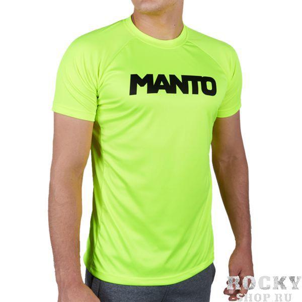 Тренировочная футболка Manto Neon MantoФутболки<br>Тренировочная футболка Manto Neon. Эта футболка сделана на основе последних технологических достижений. Стретчевый материал не сковывает движения и обеспечивает комфорт во время тренировок любого уровня интенсивности. Неважно, какая погода на улице – она не помешает Вам сфокусироваться на тренировке. Легкая ткань из полиэстера. Специальная конструкция обеспечивает комфорт для Вашей кожи. Тренировочная футболка Manto Neon впитывает пот, благодаря чему Ваше тело остается свежим во время тренировок. Состав: 100% полиэстер.<br><br>Размер INT: M