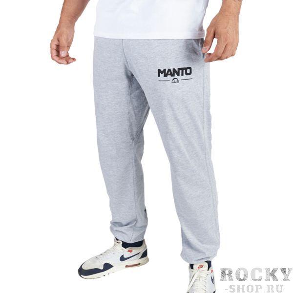 Штаны Manto Combo Light Melange MantoСпортивные штаны и шорты<br>Спортивные штаны Manto Combo Light Melange. Отлично подойдут и для тренировок, и в качестве прогулочного варианта. На бедрах штаны удерживаются с помощью резинки и шнурка, спрятанного в пояс. Манжеты в нижней части брюк оснащены резинкой. Присутствуют два боковых и один задний карманы. Спортивные штаны Manto очень мягкие, приятные на ощупь. Уход: машинная стирка в холодной воде, деликатный отжим, не отбеливать! состав: 100% хлопок.<br><br>Размер INT: S