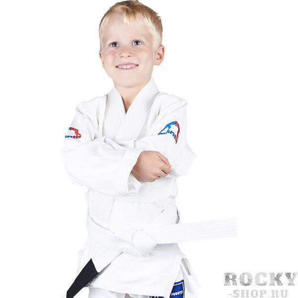 Детское ги для БЖЖ Manto Junior MantoДля БЖЖ<br>Детское кимоно (ги) для бжж (бразильского джиу-джицу) Manto Junior. Достаточно лёгкое ги. Благодаря высокому качеству материалов и отделки это кимоно становится идеальным выбором для соревнований по BJJ. - Плотность 350 GSM - Воротник, наполнен пеной ЕВА для более быстрого высыхания и комфорта. Подойдет для юношеских соревнований различного уровня. Ги сделано из цельного куска ткани (без швов на спине)! Штаны на шнурке; на поясе - дополнительные петли для того, чтобы шнурок держал штаны прочно; При стирке в горячей воде возможна усадка порядка 5%. Стирать ги рекомендуется в мягкой воде до 30 градусов без отбеливателя. Состав: 100% хлопок высокого качества.<br><br>Размер: M2