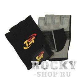 Купить Перчатки для фитнеса, мужские TSP чёрно-серые (арт. 21)