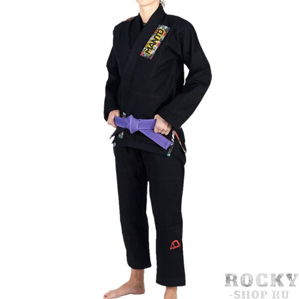 Женское кимоно для БЖЖ Manto Floral MantoЭкипировка для Джиу-джитсу<br>Женское кимоно (ги) для бжж (бразильского джиу-джицу) Manto Floral. Идеальное сочетание цена/качество. Достаточно лёгкое ги. Благодаря высокому качеству материалов и отделки это кимоно становится идеальным выбором для соревнований по BJJ. - Плотность 450 GSM - В области колен штаны дополнительно укреплены. - Воротник, наполнен пеной ЕВА для более быстрого высыхания и комфорта. Подойдет для соревнований различного уровня. Ги сделано из цельного куска ткани (без швов на спине)! Штаны на шнурке; на поясе - дополнительные петли для того, чтобы шнурок держал штаны прочно; данное ги подойдет и для новичков, и для мастеров роллинга. При стирке в горячей воде возможна усадка порядка 5%. Стирать ги рекомендуется в мягкой воде до 30 градусов без отбеливателя. Состав: 100% хлопок высокого качества.<br><br>Размер: F3