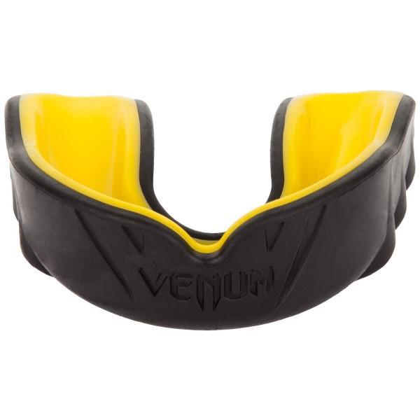 Купить Капа боксерская Venum Challenger Black/Yellow (арт. 21149)