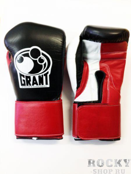 Перчатки боксерские тренировочные, липучка, 8 OZ GrantБоксерские перчатки<br>Перчатки ГрантGrant Вoxing уже более двадцати лет выпускает профессиональные боксерские перчатки для занятий спортом и соревнований, заводы компании располагаются в Мексике — в стране-лидере по производству снаряжения для бокса. Основателем бренда считается американский тренер по боксу Грант Элвис. Сегодня боксерские перчатки Grant на 10, 12, 14, 16, 18, 20 унций востребованы как спортсменами любителями, так и профессионалами, среди которых есть настоящие легенды бокса. Под брендом Grant Boxing производится широкий диапазон боксерских перчаток на липучках, шнурках и застежках. Это модели для соревнований, проработки ударов на мешках и грушах, тренировочных поединков. На вершине модельного ряда находятся перчатки для профессиональных боев. Их отличительные черты:высококачественная кожа с водоотталкивающим покрытием;индивидуальное работа;применение специального влагоупорного атласа и нейлона для внутренней отделки;многослойный пенистый наполнитель с конским волосом;в перчатках предусмотрена вентиляция внутреннего пространства;экипировка рассчитана на людей с длинными пальцами и крупной кистью;удлиненные манжеты для высокопрочной поддержки рук и закрепления запястья;оптимальная удобство конструкции перчаток;надежно фиксированный большой палец. Наше предложениеВ магазине боксерской экипировки «Рокки» постоянно в наличии широкий ассортимент перчаток Grant Вoxing. У нас можно приобрести перчатки для занятий спортом и соревнований, модели для опытных профессионалов, для женского и юношеского бокса, снарядные перчатки. Благодаря прямой договоренности с производителем у нас низкие цены на всю продукцию. Это дает вам возможность приобрести боксерское снаряжение верхнего ценового уровня по привлекательной цене. Для наших клиентов, в зависимости от стоимости покупки и их места нахождения, возможна бесплатная доставка. <br> Застёжка-липучка<br> Внутренний материал , препятствующий накоплению влаги<br> Ф