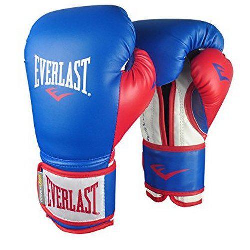 Перчатки тренировочные Everlast Powerlock, синтетическая кожа 12 oz (арт. 21265)  - купить со скидкой