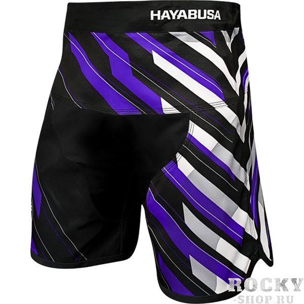 Шорты Hayabusa Metaru Charged Purple HayabusaШорты ММА<br>Шорты Hayabusa Metaru Charged Purple. Лимитированная коллекция бойцовских шорт премиум качества. Данная модель шорт одобрена международной федерацией бразильского джиу-джицу (IBJJF). Выполнены шорты для смешанных единоборств Hayabusa Charged из супер эластичной ткани и спроектированы с инновационными X-образными эластичными клиньями. Эти шорты разработаны с учетом потребностей борца с целью обеспечения максимального комфорта и свободы действий! Шорты Charged призваны дать вам то, что еще не давала ни одна из имеющихся моделей на рынке - абсолютную свободу движения, что достигается путем применения шнурка на внутренней части шорт в сочетании с эластичной поясной частью модели. Новая система фиксации позволила избавиться от застежки в виде липучки, традиционно присутствующей на подобных моделях. • Отсутствие внешних систем фиксации - все крепления на внутренней стороне изделия! • X-образные эластичные клинья обеспечивают увеличенную гибкость и маневренность. • Применена супер эластичная ткань специально для обеспечения максимального комфорта и свободы действия и движений. • Легкий вес для абсолютной маневренности и комфорта. • Внутренний шнурок для индивидуальной подгонки по талии борца. Так же необходимо отметить, что шорты Hayabusa достаточно быстро сохнут после стирки. Этот фактор позволит использовать их максимально часто. Все рисунки сублимированы в ткань. Предназначены для занятий самыми различными единоборствами, кроссфитом, фитнесом, железным спортом и т. д. . Уход: машинная стирка в холодной воде, деликатный отжим, не отбеливать.<br><br>Размер INT: L