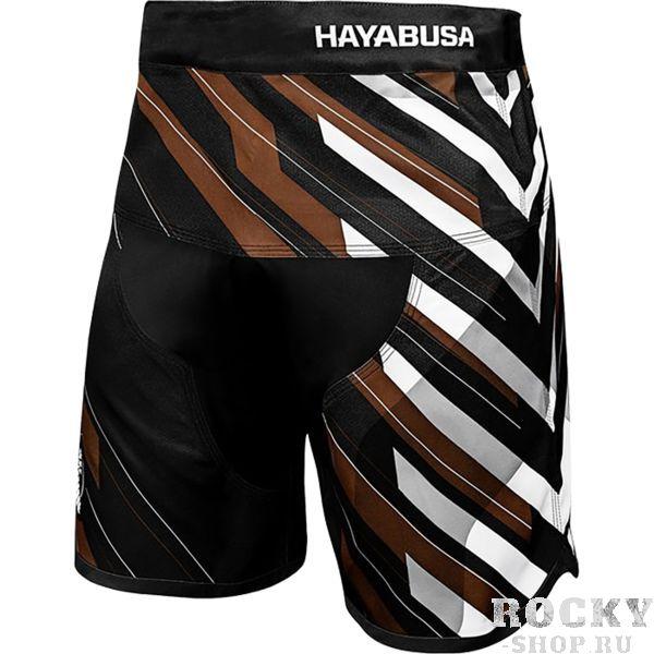Шорты Hayabusa Metaru Charged Brown HayabusaШорты ММА<br>Шорты Hayabusa Metaru Charged Brown. Лимитированная коллекция бойцовских шорт премиум качества. Данная модель шорт одобрена международной федерацией бразильского джиу-джицу (IBJJF). Выполнены шорты для смешанных единоборств Hayabusa Charged из супер эластичной ткани и спроектированы с инновационными X-образными эластичными клиньями. Эти шорты разработаны с учетом потребностей борца с целью обеспечения максимального комфорта и свободы действий! Шорты Charged призваны дать вам то, что еще не давала ни одна из имеющихся моделей на рынке - абсолютную свободу движения, что достигается путем применения шнурка на внутренней части шорт в сочетании с эластичной поясной частью модели. Новая система фиксации позволила избавиться от застежки в виде липучки, традиционно присутствующей на подобных моделях. • Отсутствие внешних систем фиксации - все крепления на внутренней стороне изделия! • X-образные эластичные клинья обеспечивают увеличенную гибкость и маневренность. • Применена супер эластичная ткань специально для обеспечения максимального комфорта и свободы действия и движений. • Легкий вес для абсолютной маневренности и комфорта. • Внутренний шнурок для индивидуальной подгонки по талии борца. Так же необходимо отметить, что шорты Hayabusa достаточно быстро сохнут после стирки. Этот фактор позволит использовать их максимально часто. Все рисунки сублимированы в ткань. Предназначены для занятий самыми различными единоборствами, кроссфитом, фитнесом, железным спортом и т. д. . Уход: машинная стирка в холодной воде, деликатный отжим, не отбеливать.<br><br>Размер INT: M