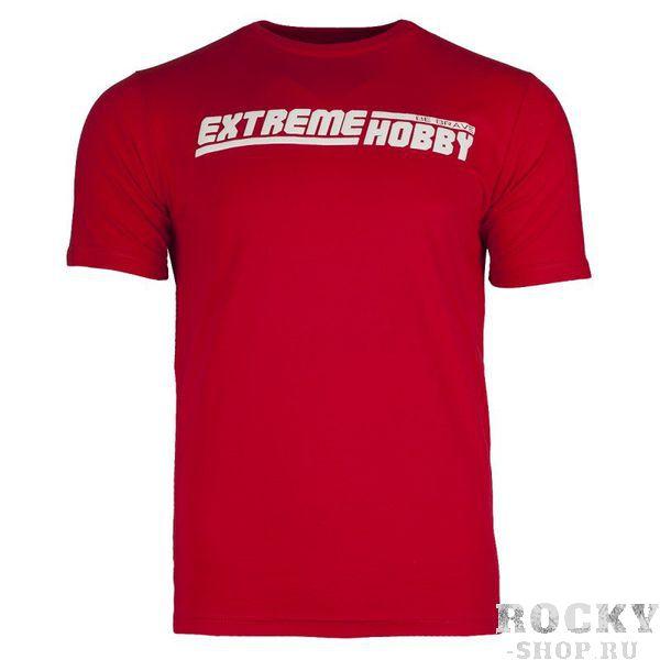 Футболка eh line (красный) Extreme HobbyФутболки<br>Футболка Extreme Hobby характеризуется высоким качеством материала. Принты усилены HD эффектами и гелевым нанесением. Покрой был создан нами с нуля и обеспечивает ощущение комфорта и оригинальности. <br>КОЛЛЕКЦИЯ: 58 BASIC<br>ЦВЕТ: КРАСНЫЙ<br>МАТЕРИАЛ: 100% ХЛОПОК<br><br>Размер INT: S
