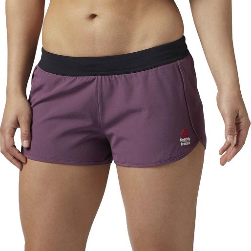 Женские спортивные шорты Reebok Crossfit Ass To Ankle ReebokСпортивные штаны и шорты<br>Женские спортивные шорты Reebok Crossfit Ass To Ankle. Удобные и функциональные шорты для любителей интенсивных тренировок. Материал: нейлон, 20% эластан. Технология Speedwick отводит излишки влаги с поверхности тела, оставляя ощущение сухости и комфорта. Плоские швы и проклеенные края для динамичных движений. Антибактериальная обработка предотвращает появление неприятного запаха. Уход: машинная стирка в холодной воде, не отбеливать.<br><br>Размер INT: S