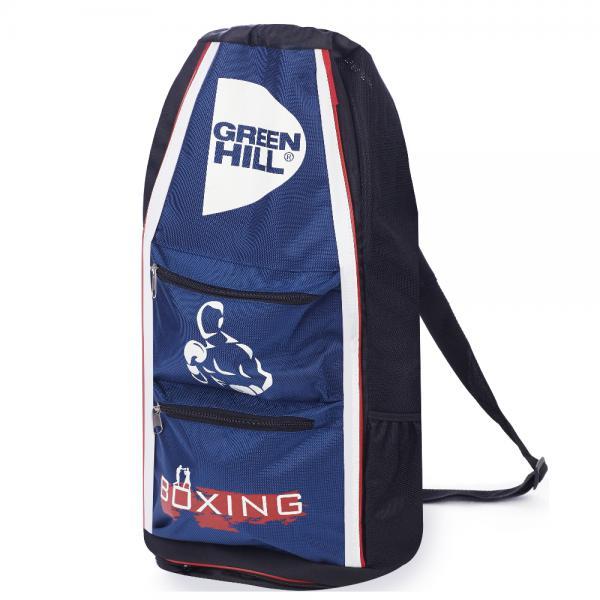 Спортивная сумка-тубус Green Hill boxing, Синяя Green HillСпортивные сумки и рюкзаки<br>Удобная спортивная сумка от Green HillРазмеры 56,25*31,5*30<br>