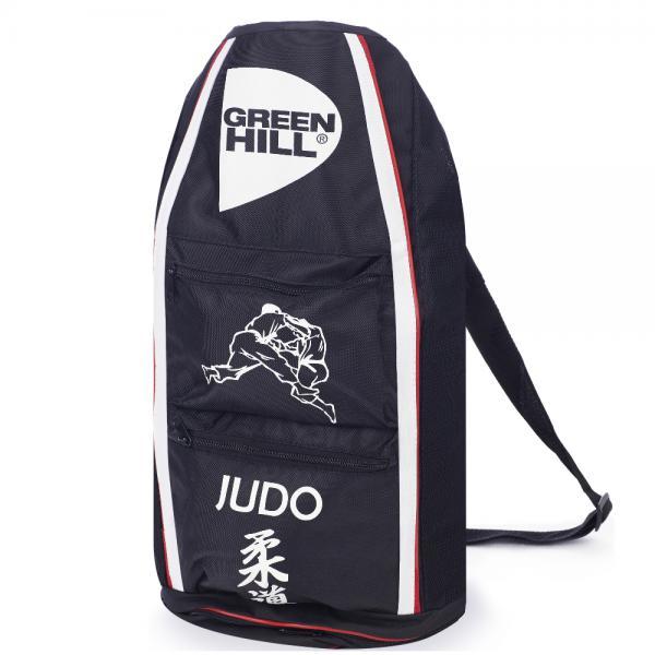 Спортивная сумка-тубус Green Hill Judo, Черная Green HillСпортивные сумки и рюкзаки<br>Удобная спортивная сумка от Green HillРазмеры 56,25*31,5*30<br>