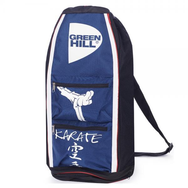 Спортивная сумка-тубус Green Hill Karate, Синяя Green HillСпортивные сумки и рюкзаки<br>Удобная спортивная сумка от Green HillРазмеры 56,25*31,5*30<br>