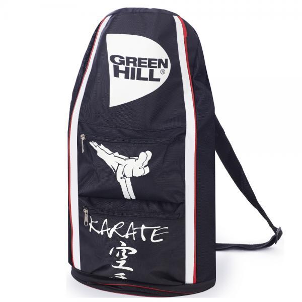 Спортивная сумка-тубус Green Hill Karate черная (арт. 21713)  - купить со скидкой