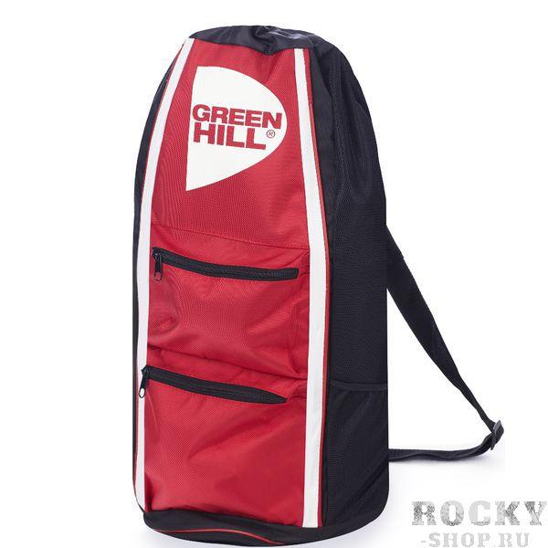 Спортивная сумка-тубус Green Hill, Красная Green HillСпортивные сумки и рюкзаки<br>Удобная спортивная сумка от Green HillРазмеры 56,25*31,5*30<br>