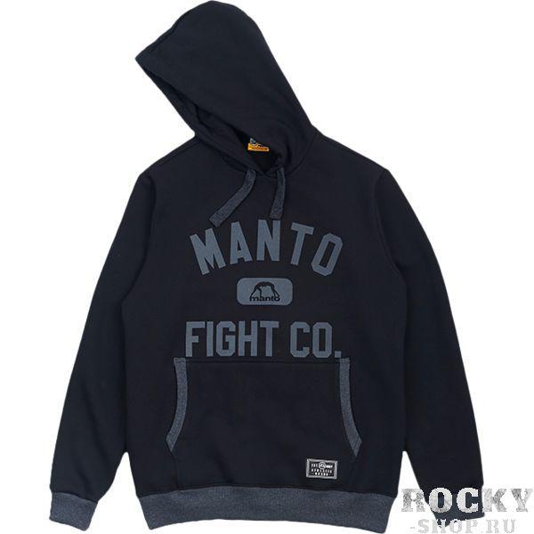 Толстовка Manto Fight Co MantoТолстовки / Олимпийки<br>Толстовка Manto Fight Co. Кофта с капюшоном. На фронтальной части кофты расположен карман-кенгуру. Плотная и теплая кофта! В меру простая, но очень стильная толстовка! Состав: 100% хлопок.<br><br>Размер INT: L