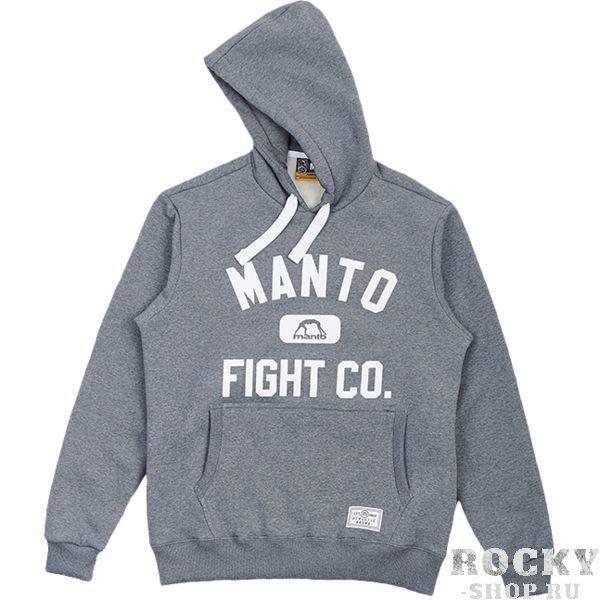 Толстовка Manto Fight Co MantoТолстовки / Олимпийки<br>Толстовка Manto Fight Co. Кофта с капюшоном. На фронтальной части кофты расположен карман-кенгуру. Плотная и теплая кофта! В меру простая, но очень стильная толстовка! Состав: 100% хлопок.<br><br>Размер INT: XL