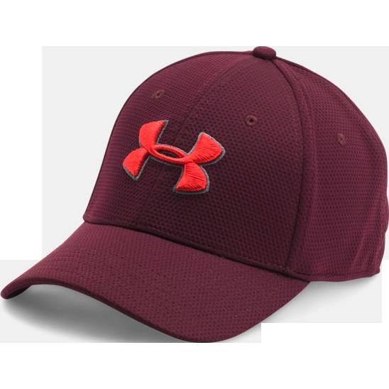 Бейсболка Under Armour Blitzing II Under ArmourБейсболки / Кепки<br>Бейсболка Under Armour Blitzing II. Выполнена из прочного текстиля с технологией HEATGEAR, которая максимально пропускает воздух, что позволяет испарять влагу с поверхности тела быстро и эффективно. Над козырьком вышивка с логотипом бренда. Материал: полиэстер.<br><br>Размер INT: M/L