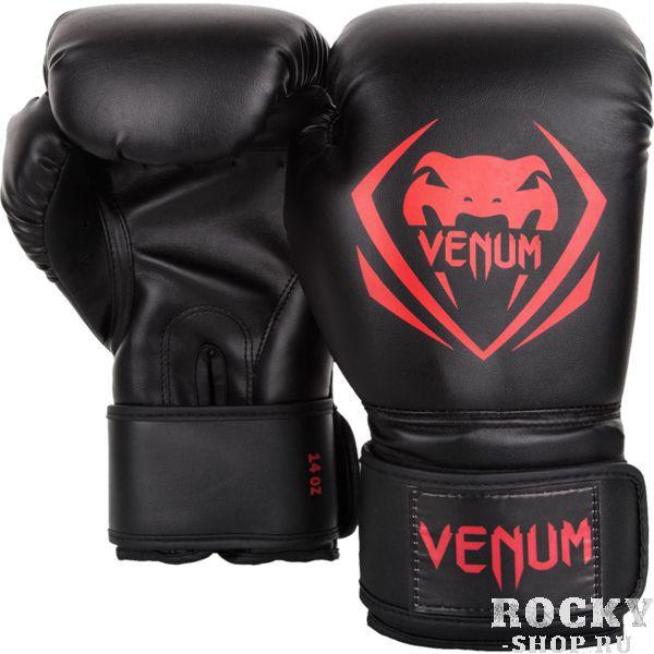 Перчатки боксерские Venum Contender Black/Red, 8 oz VenumБоксерские перчатки<br>Боксерские перчатки Venum Contender. Великолепное соотношение цена/качество! Отлично защищают руку! очень хорошо сидят на руке. Широкая застежка с резинкой, обеспечивает надежную фиксацию перчаток Venum на запястье. Внутренний наполнитель - пена для лучшей амортизации удара. Внешняя часть перчаток - Skintex Leather. Это современный надёжный искусственный материал. Подходят и для тренировок по боксу, мма, тайскому боксу, работы на мешках, а так же для соревнований определённого уровня.<br>