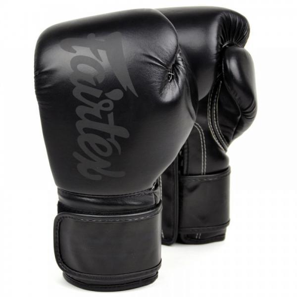 Купить Перчатки боксерские Fairtex Double Black 14 oz (арт. 21999)