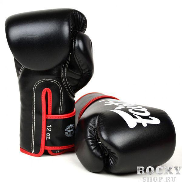 Купить Перчатки боксерские Fairtex Black/Red 10 oz (арт. 22001)