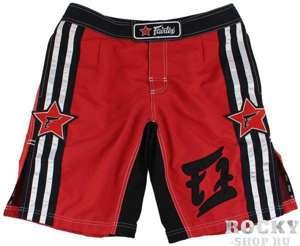 Шорты MMA Fairtex Stars, red, Красные FairtexШорты ММА<br>Это классические шорты Fairtex для различных видов спорта, дополненные боковым карманом. Они одинаково хороши как для ММА, Грэпплинга, и Muay Thai, но в то же время удобны для пляжного отдыха. AB8 хороши для активного отдыха на природе, пробежек или купания. Эти шорты по истине являются универсальными. Спроектированы таким образом, что Вы сможете наносить удары ногами без препятствий. Кроме того, в таких шортах удобно бороться. Именно благодаря этому, они хорошо подойдут для смешанных единоборств.<br><br>Размер INT: M