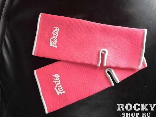 Купить Защита голеностопа Fairtex, pink Fairtex (арт. 22007)