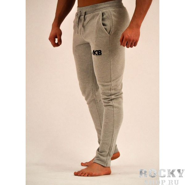 Купить Спортивные штаны ACB, серые зауженные ACB (арт. 22032)