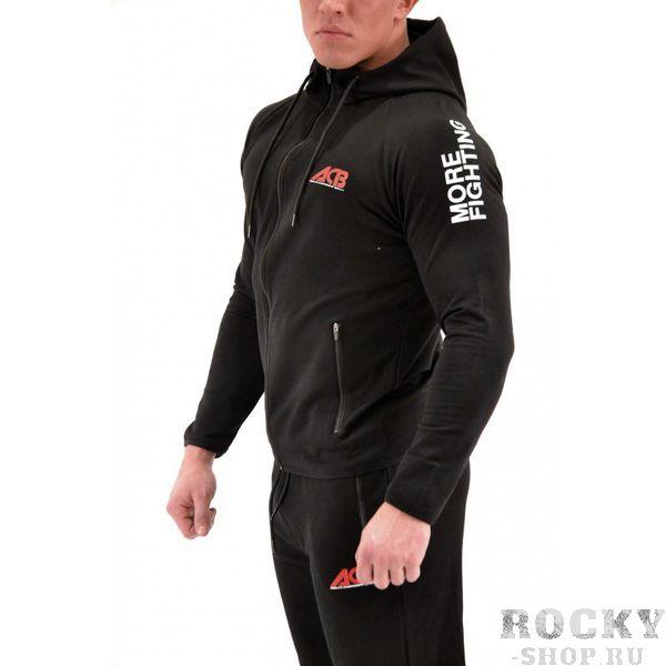 Спортивный костюм ACB ACBСпортивные костюмы<br>Стильный спортивный костюм, выполненный качественного материала не стесняет движений. Свободный спортивный покрой обеспечит комфорт во время занятий спортом. <br>Состав: 100% хлопок<br>Спортивный костюм черный с надписью ACB, сзади беркут на лого. На рукавах слоган<br><br>Размер INT: XL