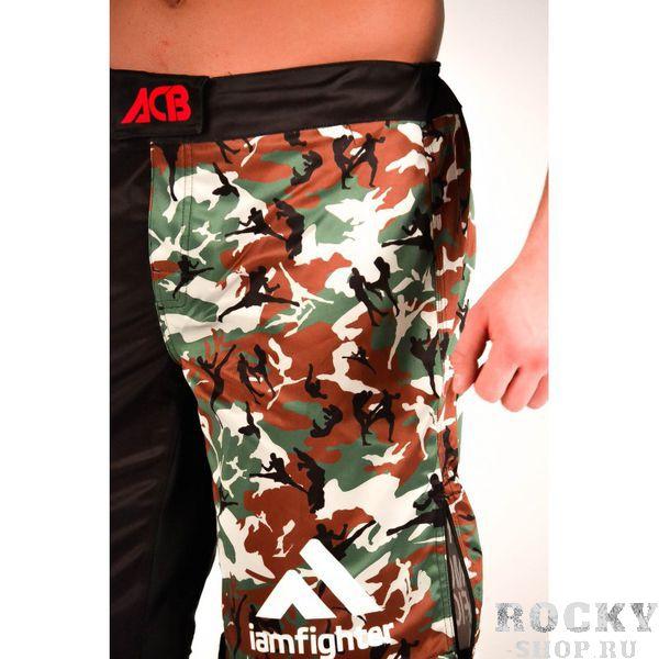 Шорты MMA ACB ACBШорты ММА<br>Шорты MMA с камуфляжными вставками<br><br>Размер INT: M